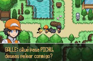 Pokemon Silver Legend para GBA Pichu Pokémon Inicial