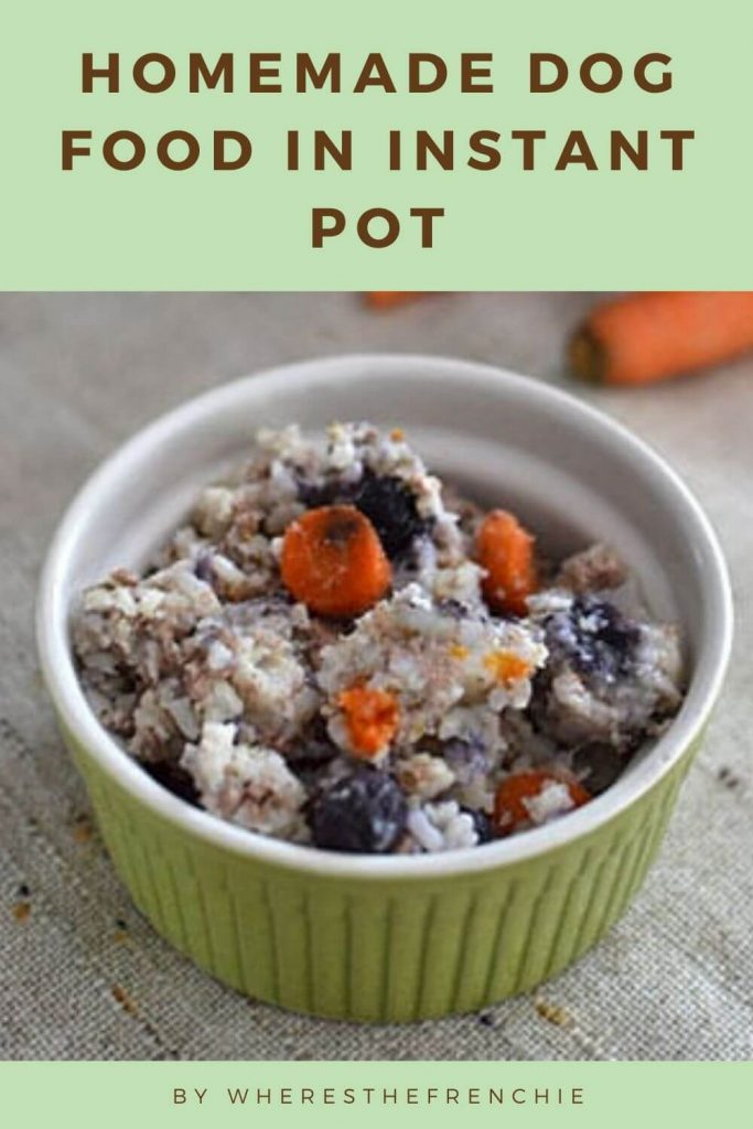 Homemade Dog Food In Instant Pot