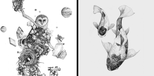 00-Chris-R-Detailed-Drawings-Involving-Animals-www-designstack-co