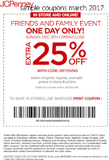 JcPenney coupons for march 2017