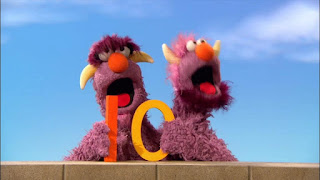 the Two Headed Monster, the number of the day 10, Sesame Street Episode 4316 Finishing the Splat season 43