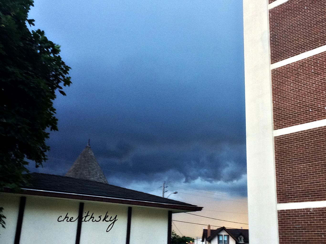 Tornado Warning Apartment Building