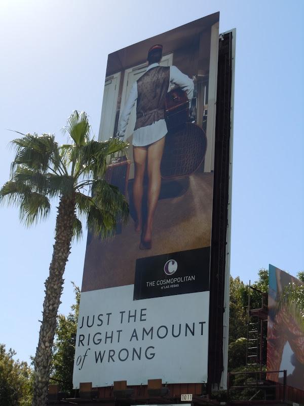 Cosmopolitan hotel porter billboard