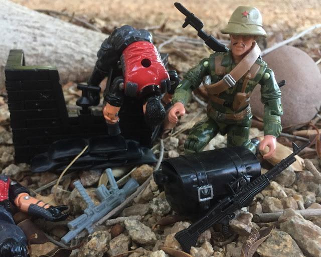 2005 Sgt. Misha, 2006 Comic Pack, Oktober Guard, Stalker, Lt. Gorky, 2016 Viper, Red Lasers Army