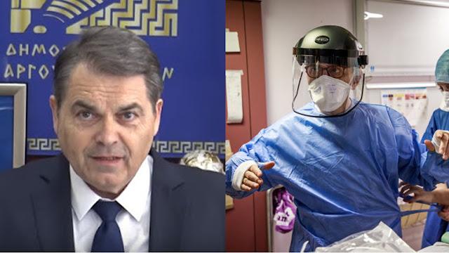 40 νοσοκομειακές στολές δωρίζει ο Καμπόσος στο νοσοκομείο του Άργους