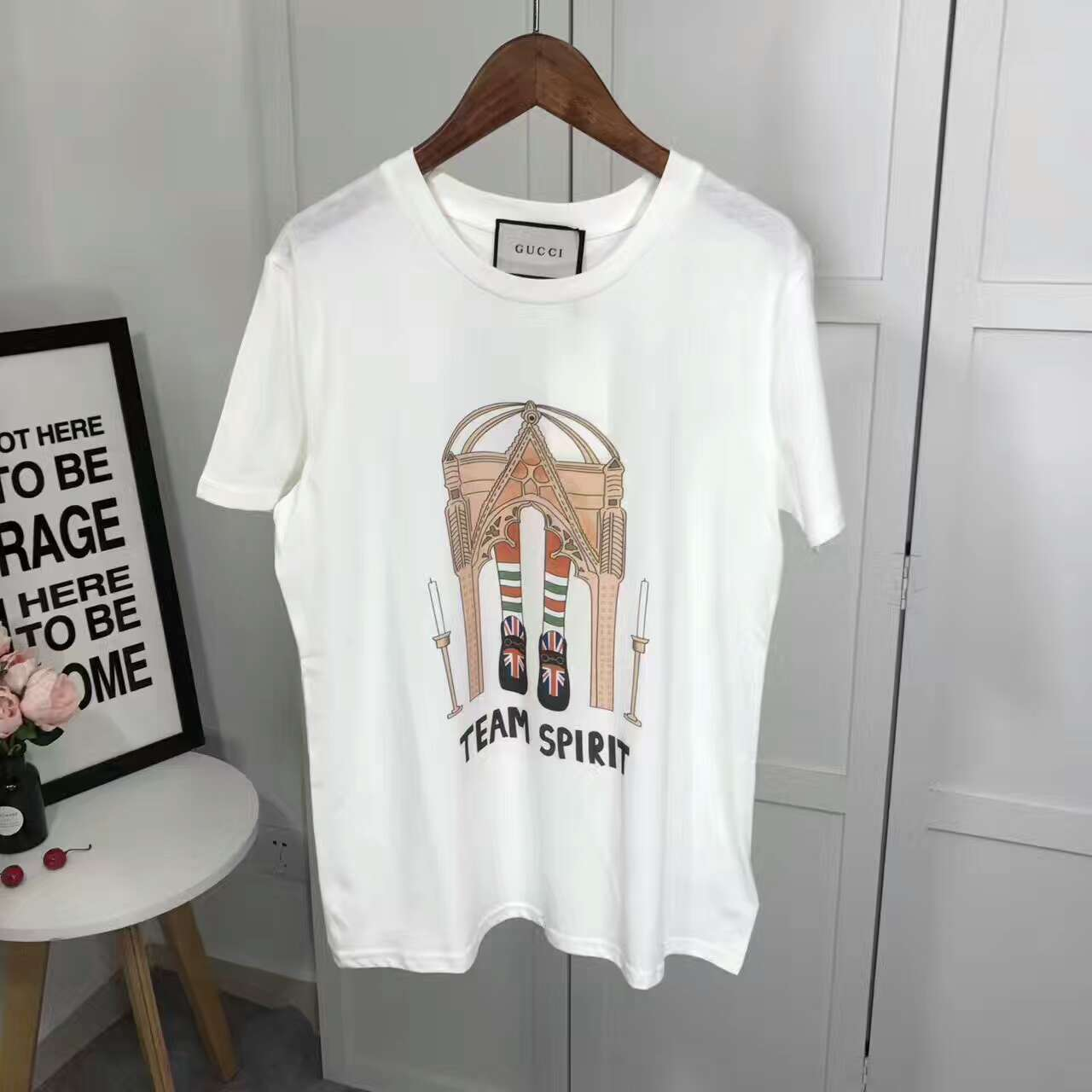 72089ee73d1 Fkers999  Gucci x Angelica Hicks 2017 Summer Tee