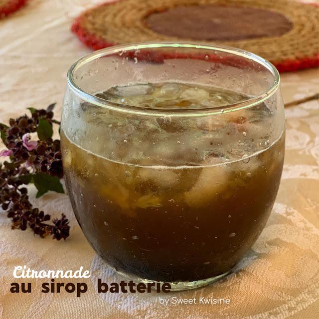 sweet kwisine, sirop batterie, citronnade, martinique, guadeloupe, antilles, cuisine antillaise, canne à sucre,
