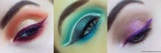 colourpop makeup looks with gel eyeliners