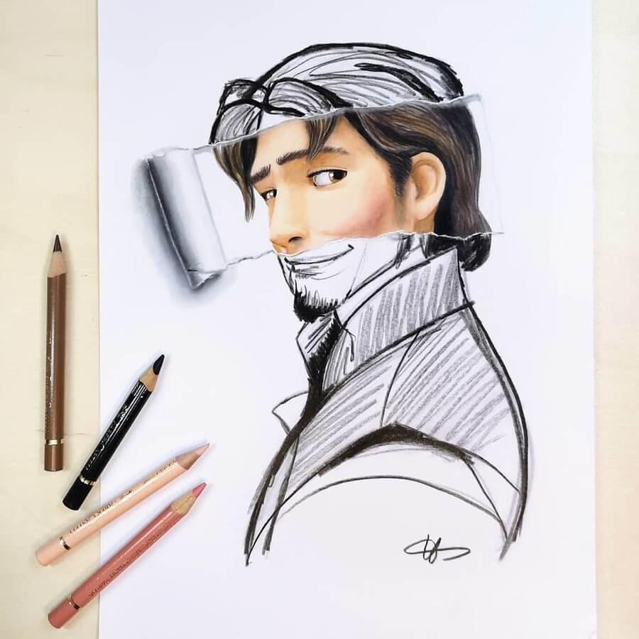 02-Flynn-Rider-Tangled-Ursula-Doughty-www-designstack-co