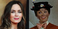Emily Blunt  interpreterà Mary Poppins nel sequel del live-action Disney