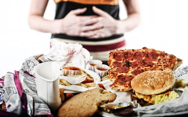 Bad habits after food. be careful.