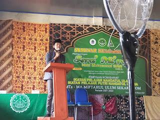 Ketua PAC IPNU Pegantenan: PK IPNU-IPPNU Sekar Anom Harus Menjadi Sentral Melahirkan Pelajar NU