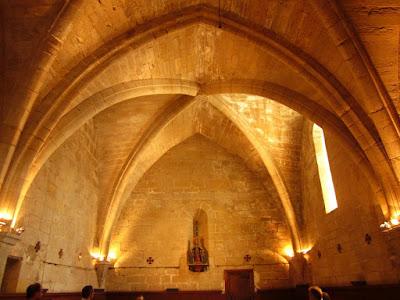 Sala capitular del monasterio de Vallbona de les Monges