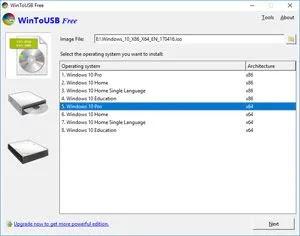 تحميل برنامج WinToUSB Enterprise 5.6  لتثبيت وتحويل الويندوزعلى الفلاشة أو هارد خارجي