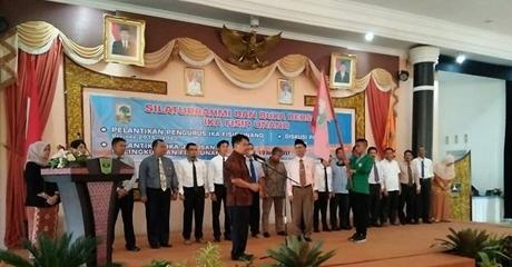 Khairul Ikhwan Dilantik Jadi Ketua IKA FISIP UNAND Periode 2016-2020