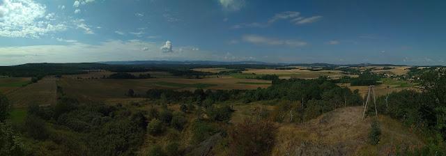 czartowska skała - panorama