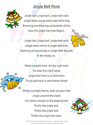 Jingle Bells, jingle Bells Songs Lyrics