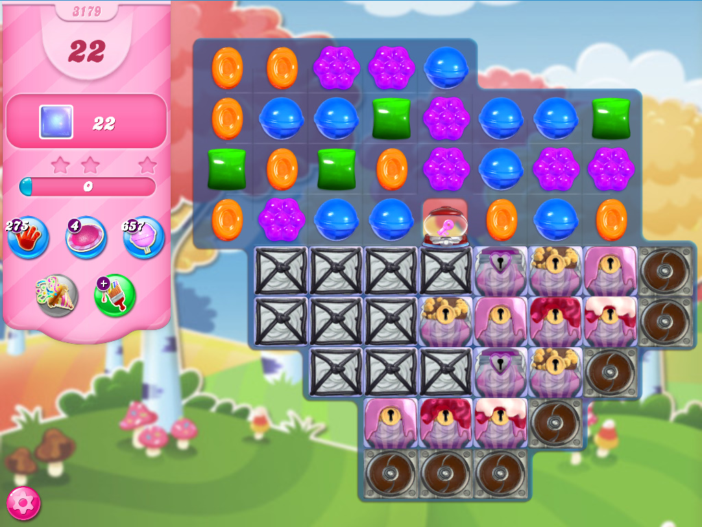 Candy Crush Saga level 3179