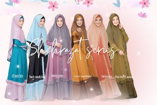 Koleksi Gamis Set Syari Shehrazat By Lianahans