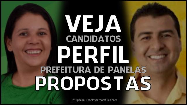 Perfil e propostas dos candidatos à prefeitura de Panelas-PE