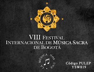 8VO Festival internacional de música sacra de Bogotá