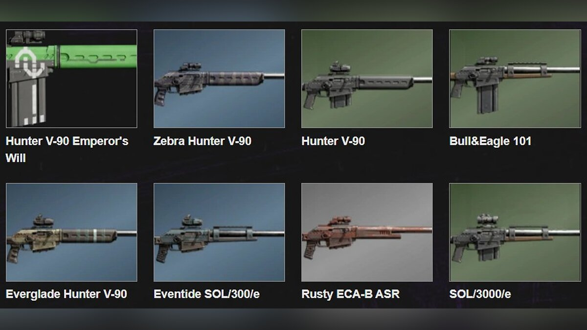 The best weapons for each class in Outriders