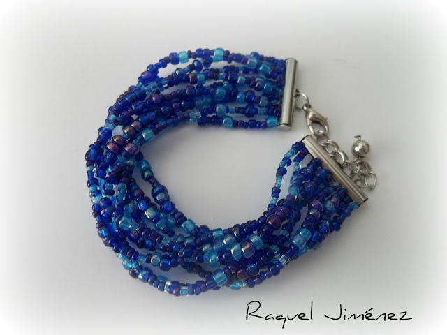 pulsera classic blue