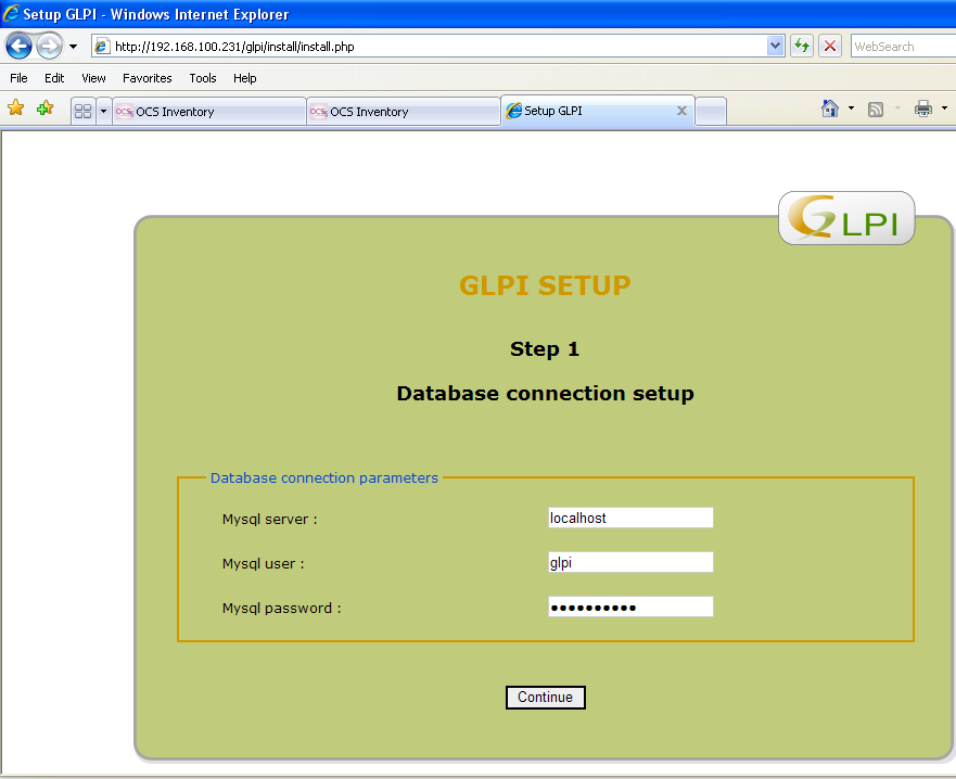 glpi pour windows server 2003