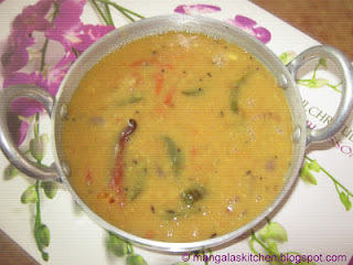Traditional Sambar from Grandmothers Kitchen Style