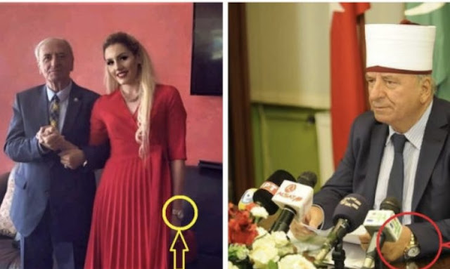 N. Macedonia's Grand Mufti married to 50 years younger wife, he withdrew 1 million € from Muslim Community in a day for buying watches and luxury jewelry