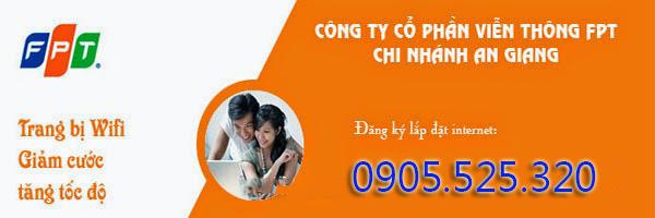 Đăng Ký Internet FPT Phường Châu Phú A, B