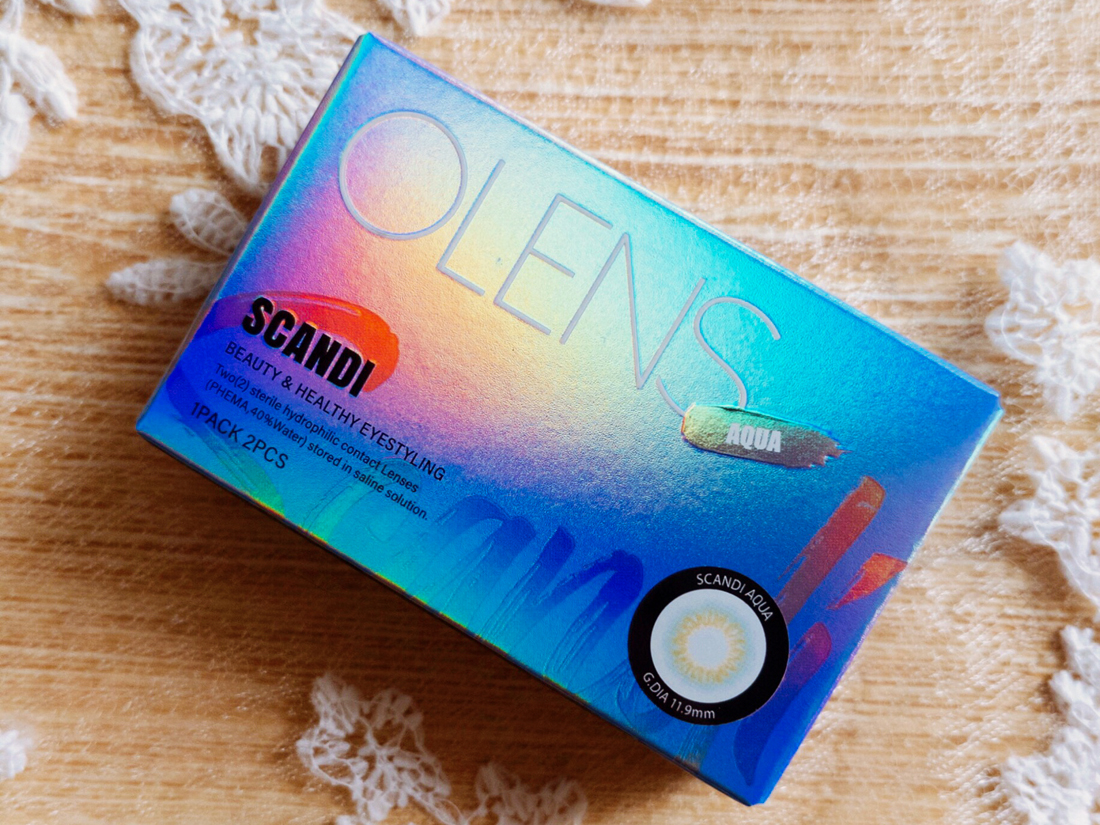 OLENS Scandi Contact Lens Review | chainyan.co