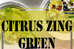 CITRUS ZING GREEN SMOOTHIE BOWL RECIPE