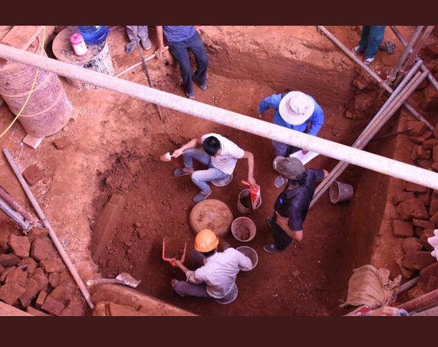 वियतनाम : ए एस आई ने वियतनाम मंदिर स्थल पर 9वीं सदी के शिवलिंग का पता लगाया