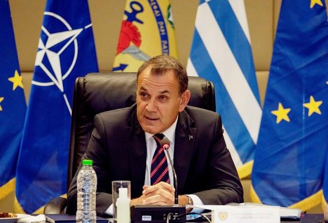 Παναγιωτόπουλος: «Η Ελλάδα πρέπει να συνεισφέρει στο Σαχέλ, στηρίζοντας τη φίλη Γαλλία»-Τι είπε για εθνικό τυφέκιο