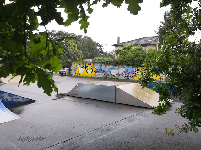 skatepark sèvres modules