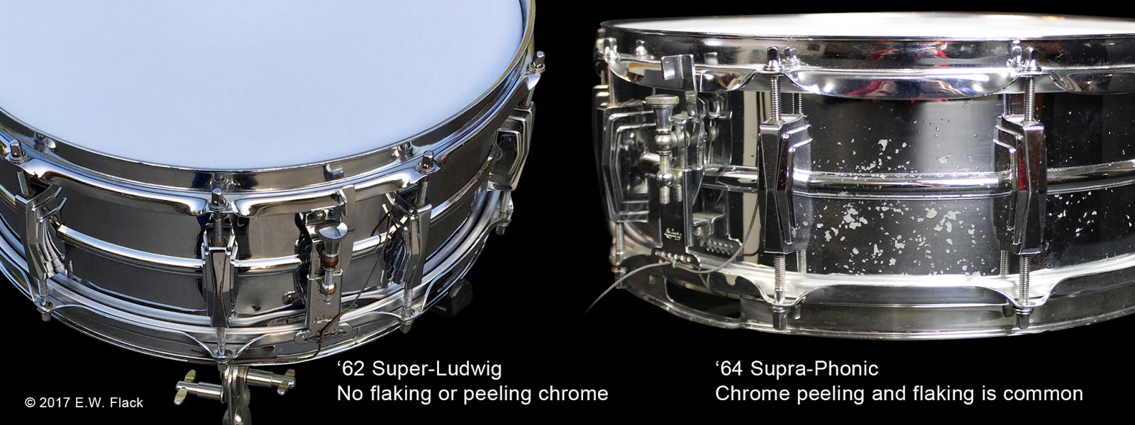ludwig supraphonic snare serial number