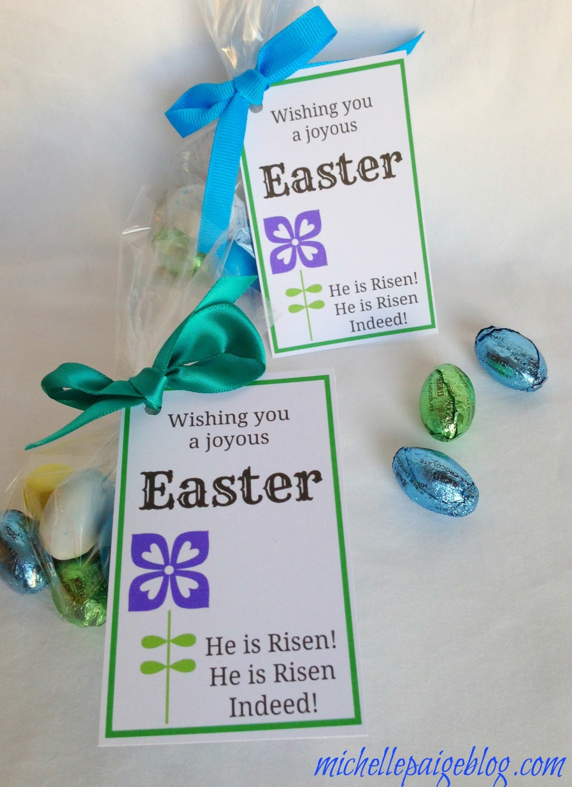Michelle paige blogs easter favors for teachers friends and family easter favors for teachers friends and family negle Images
