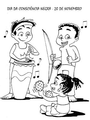 Atividades consciência negra educação infantil