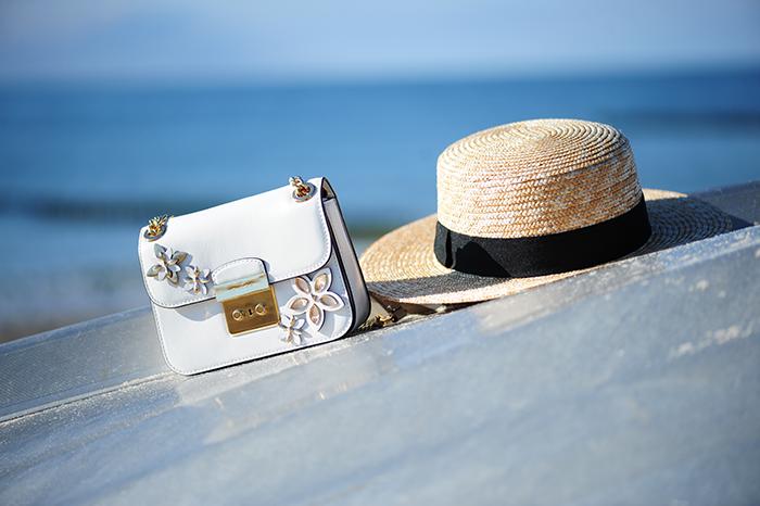 Michael Kors, strawhat, boater hat, Strohhut