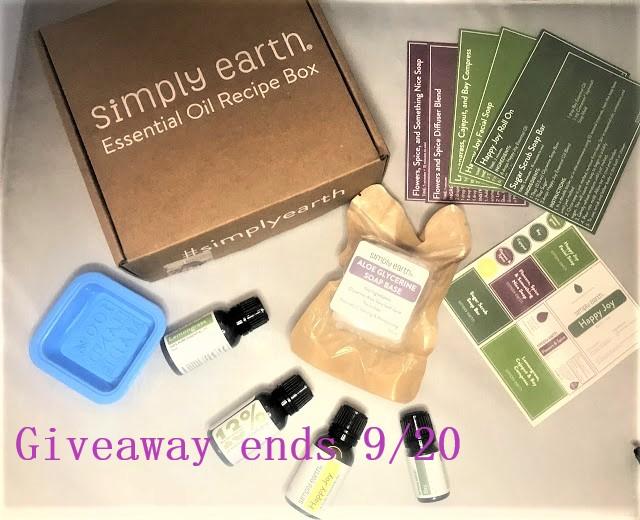 Simply Earth September Box