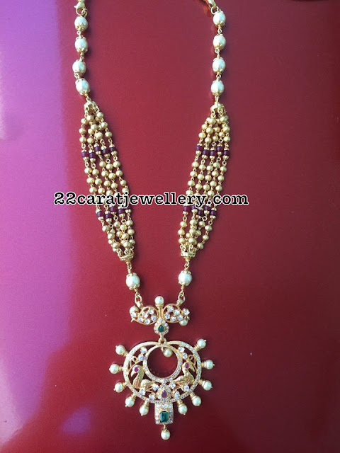 92.5 Silver Beads Sets with Pendants