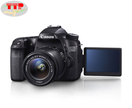 Máy chụp hình Canon EOS 70D Kit 18-55 IS STM