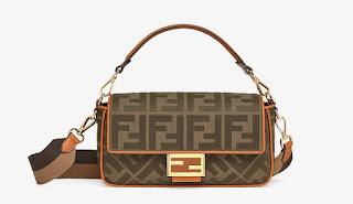 Fendi's best-selling 'baguette' handbag, designed by Silvia Venturini Fendi