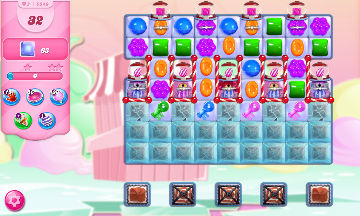 Candy Crush Saga level 5348