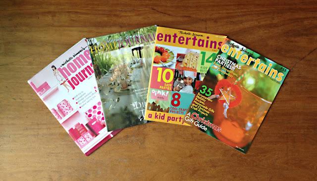 Michelle Simone Entertains magazine