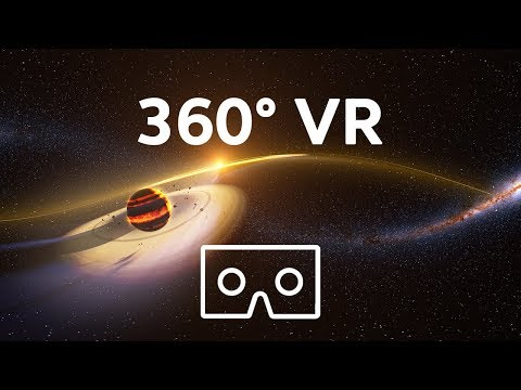 VR 360 Video of Space Race