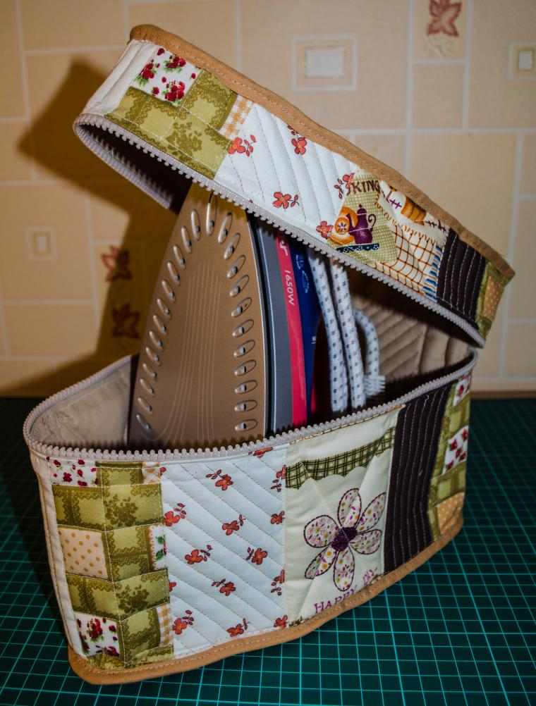 How to sew a cover for Iron. Tutorial & Pattern