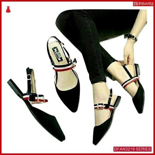 DFAN3219S71 Sepatu Pcx Sandal Flatshoes Wanita Sepatu Flat BMGShop