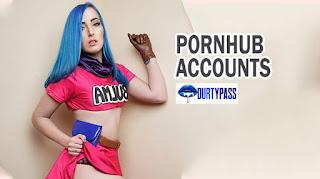 Working Pronhub Premium Accounts & Passwords 2020
